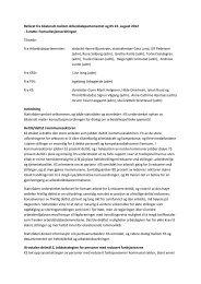 Referat fra bilateralt møte med AD august 2012 - KS