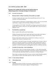 ASA 4310 for perioden 2008 - 2010 Rammeavtale mellom KS og ...