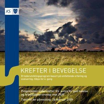 KREFTER I BEVEGELSE - KS