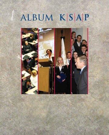 Album KSAP - Wstęp - Krajowa Szkoła Administracji Publicznej