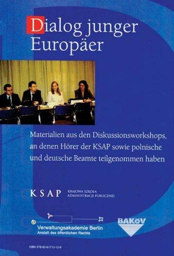 Welches Europa wollen wir? - Krajowa Szkoła Administracji Publicznej