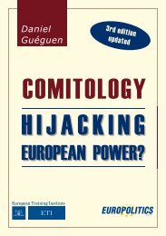 Comitology: Hijacking European Power?