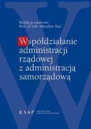 Współdziałanie administracji rządowej z administracją samorządową