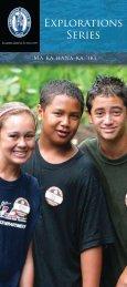 Explorations Series - Kamehameha Schools