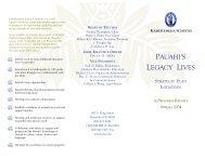 Download Current Initiatives - Kamehameha Schools