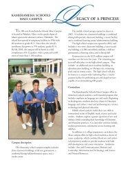 Maui Campus Flier 2004rev2 - Kamehameha Schools