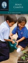 About Maui Campus - Kamehameha Schools