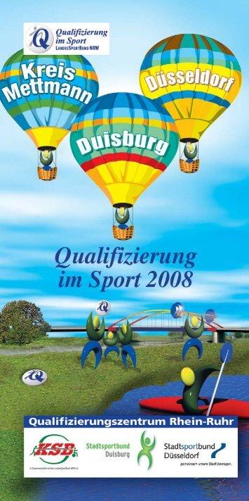Heft end-r - Kreissportbund Mettmann e.V.