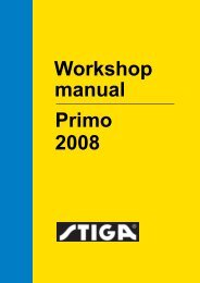 Workshop manual Primo 2008