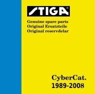STIGA CYBERCAT 01, MANUAL