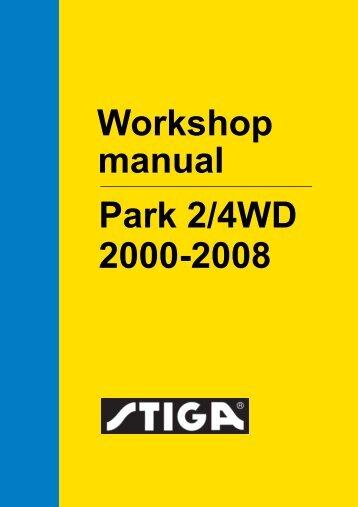 Workshop manual Park 2/4WD 2000-2008
