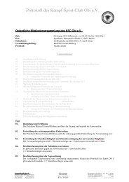 8 Protokoll der MV des KSC Obi 2012-01-04 - KSC Obi eV 帯