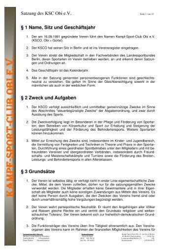 3 Beschlossene Satzung - KSC Obi - 2012-01-04 - KSC Obi eV 帯