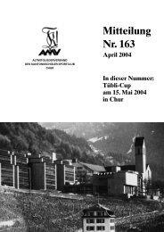 Mitteilung Nr. 163 April 2004 In dieser Nummer - KSC Chur
