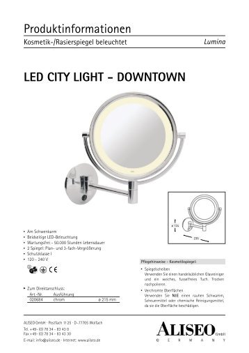 LED CITY LIGHT - DOWNTOWN - Aliseo