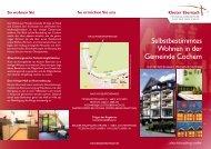 Wohnen in der Gemeinde Cochem - Kloster Ebernach