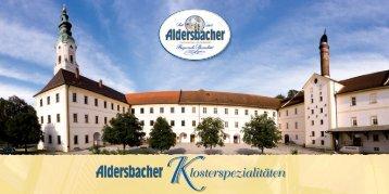 Bruder und Schwester. - Brauerei Aldersbach