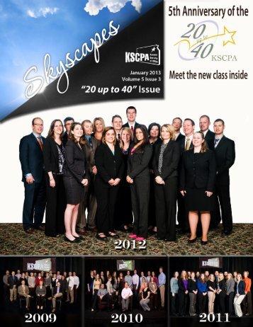20 up to 40 - Kansas Society of CPAs & Educational Foundation