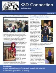 May 2010 Staff Newsletter - Kennewick School District