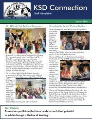 March 2010 Staff Newsletter - Kennewick School District