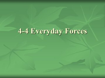 4 4 Everyday Forces 4 Everyday Forces