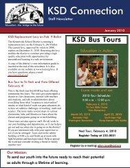 January 2010 Staff Newsletter - Kennewick School District