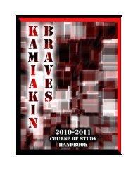 10-11 Handbook - Kennewick School District