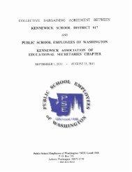 SECRETARY 2011-2013.pdf - Kennewick School District