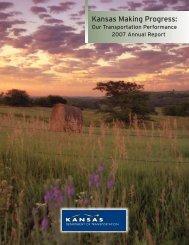 Annual Report 2007 - Kansas Department of Transportation