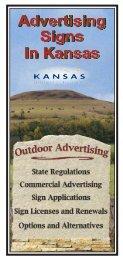 Signs - Kansas Department of Transportation