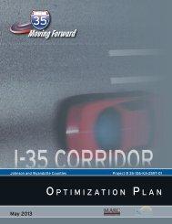 Optimization Plan - Kansas Department of Transportation