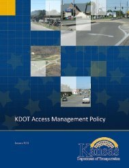Access Management Policy 2013 - Kansas Department of ...
