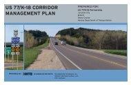 US 77/K-18 CORRIDOR MANAGEMENT PlAN - Kansas Department ...