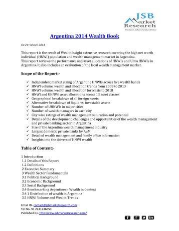 Argentina 2014 Wealth Book