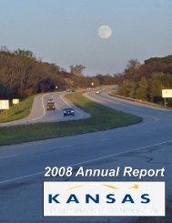 2008 Annual Report - Kansas Department of Transportation