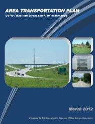 AREA TRANSPORTATION PLAN - Kansas Department of ...