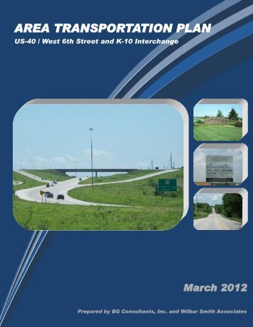 AREA TRANSPORTATION PLAN - Kansas Department of ...