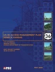 US-36 Access Management Plan - Kansas Department of ...