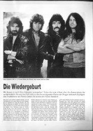 Black Sabbath - Die Wiedergeburt (Story ... - Alexander Rack