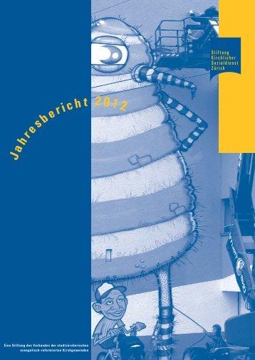 Jahresbericht PDF - Stiftung Kirchlicher Sozialdienst Zürich