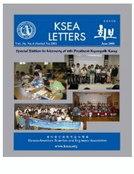 Vol36-04 - Korean-American Scientists and Engineers Association