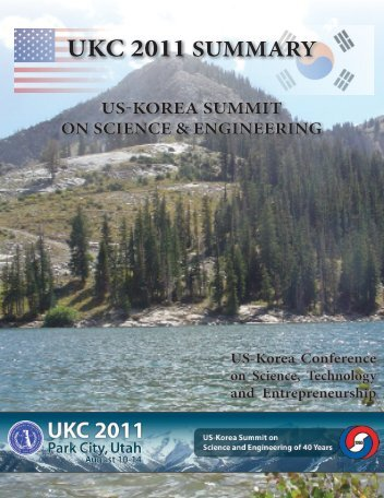 UKC 2011 SUMMARY - Korean-American Scientists and Engineers ...