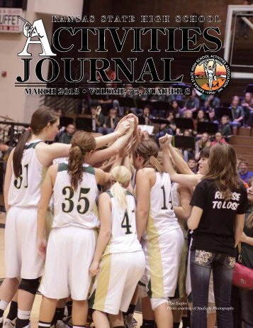 March 2013 • volume 75, number 8 - kshsaa