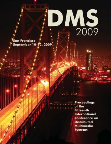 DMS 2009 Proceedings - Knowledge Systems Institute