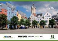 Wegweiser des KSJ mit Abfallkalender 2013 - Kommunalservice Jena