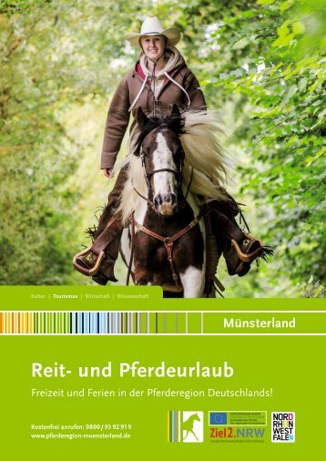Reiten- und Pferdeurlaub Münsterland 2014