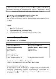 Musterinformation Geldmarktkonto KSK GN - Kreissparkasse ...