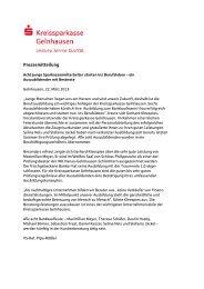 PM Prüfung Azubis 21_03_13 - Kreissparkasse Gelnhausen