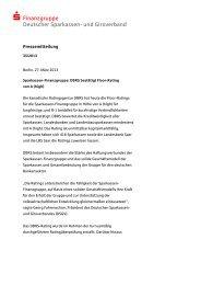  Finanzgruppe Deutscher Sparkassen- und Giroverband