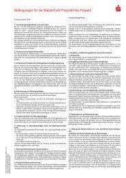 FDI/PLUSCARD Bedingungen für die MasterCard Prepaid/Visa ...